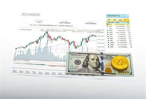 Bitcoin is the currency of the internet: Chart growth rate bitcoin editorial stock photo. Image of ...