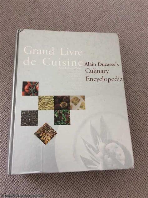 livre cuisine ducasse grand livre de cuisine zvab