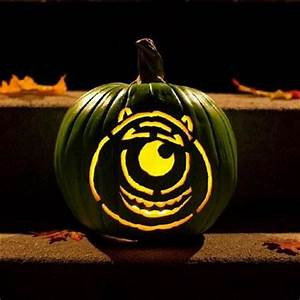 mike wazowski pumpkin template - mike wazowski pumpkin carving template disney holidays