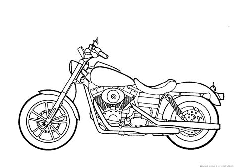 Motorcycle Simple Drawing At Getdrawings.com