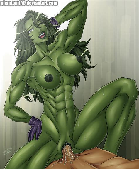 She Hulk Delivers By Preyingphantom Hentai Foundry