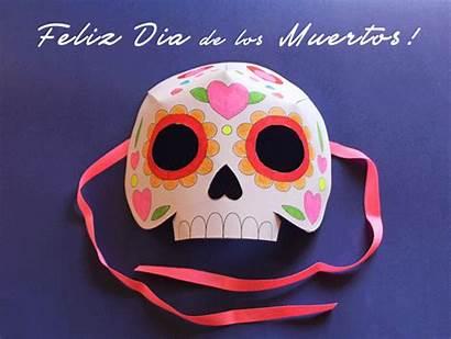 Dead Mask Calavera Craft Muertos Dia Los