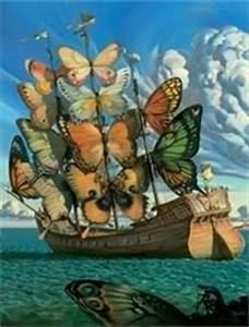 salvador dali butterfly ship Fav tattoos Pinterest Ships, Salvador Dali and Dali
