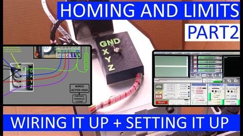 cnc tmach homing  limits wiring   part