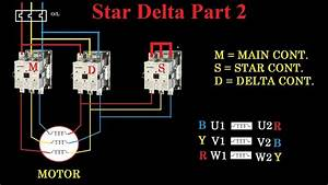 Star Delta Starter Motor Terminal Connection