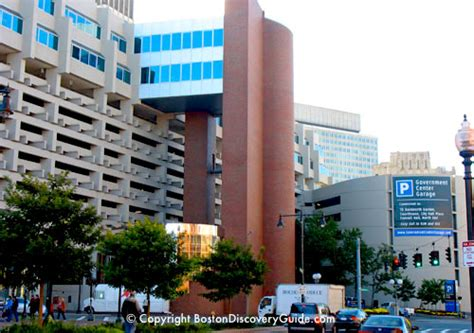 boston parking garage boston parking garages near end attractions td