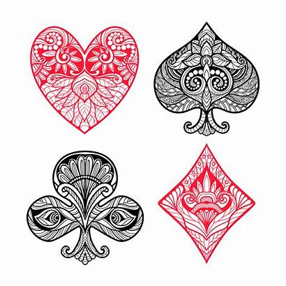 Card Suits Playing Vector Spades Cards Poker