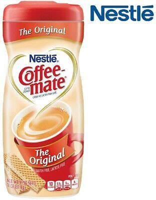 Whether mid range or high speed production rates, our solutions are easy to use, compact and affordable. NESTLE COFFEE MATE Powder Creamer Original 11 oz Plastic Container | eBay