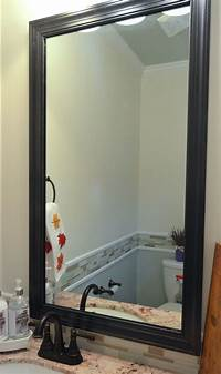 frame a mirror How to Frame a Mirror with Clips in 5 easy steps