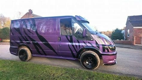 83 ford transit kit this ford transit custom features a built kit said to be