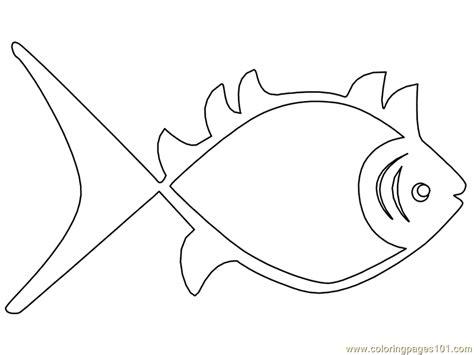 aboriginal fish coloring page   fish coloring