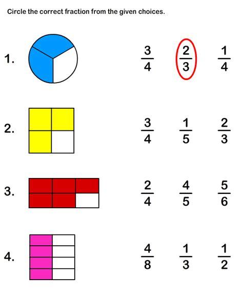 free printable fraction worksheets free educational worksheets for kids educational