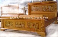Harga Bed Canopies Tororo Indonesia carved bed walnut custom wood bedroom furniture