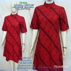 gambar dress batik modern terbaru dress batik natal