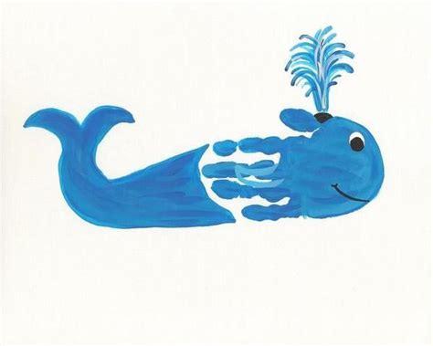 handprint sea animals craft idea  preschoolers crafts