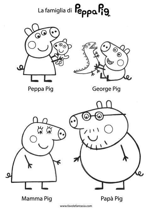 disegno da stare peppa pig gli amici di peppapig da colorare disegni da colorare