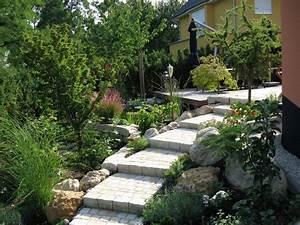 Bücher Zur Gartengestaltung : gartentreppe mit geringer steigung haufler baumschule ~ Lizthompson.info Haus und Dekorationen