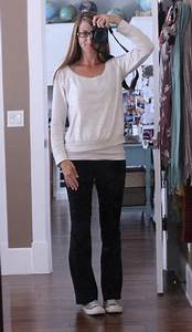 Yoga Pants Outfit For School