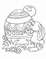 Easter Coloring Egg Eggs Printable Sheets Colouring Bunny Printables Bestcoloringpagesforkids Children Coloringtop Childrens Modern Template sketch template