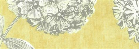 luxury large printed floral grey silver mustard yellow