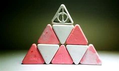 triangulos de yeso  decorar