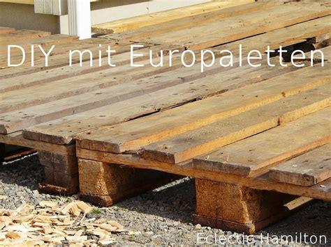 Terrasse Mit Europaletten by Diy Terrasse Aus Paletten Diy Mit Paletten
