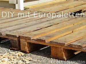 Terrasse Aus Europaletten : diy terrasse aus euro paletten diy mit paletten ~ Orissabook.com Haus und Dekorationen
