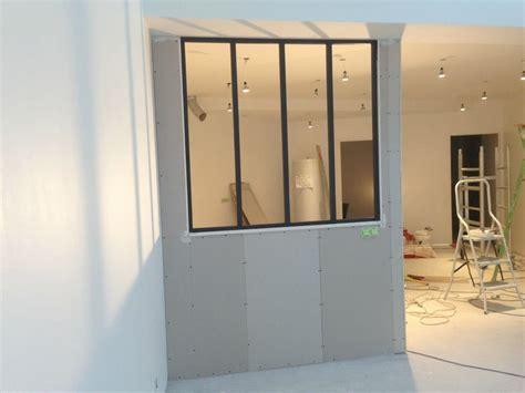 vitre separation cuisine cuisine séparation vitrée bricolage tuto faire soi