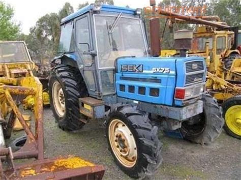 used iseki sx75 tractor wrecking parts only for sale