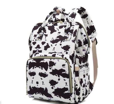 print diaper bag large shoulder backpack  pattern travel bag    baby diaper