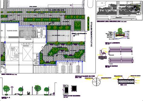 public square  dwg design detail  autocad designs cad