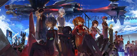 neon genesis evangelion anime plus evangelion 3 0 you can not redo hd fondo de