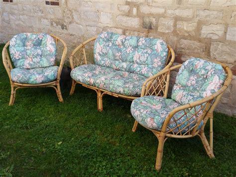 salon de jardin rotin salon de jardin rotin bambou osier fauteuil banquette