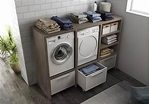 Waschmaschinenschrank Mit Tür : waschmaschinenschrank trocknerschrank ideen f r zuhause ~ Sanjose-hotels-ca.com Haus und Dekorationen