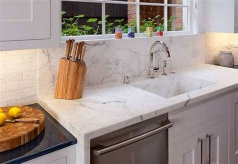 quartz countertop with undermount sink 9 best kitchen sink materials you will love
