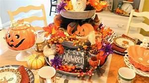 Halloween Sachen Basteln : zu halloween basteln meistern sie eine festliche tischdeko ~ Whattoseeinmadrid.com Haus und Dekorationen