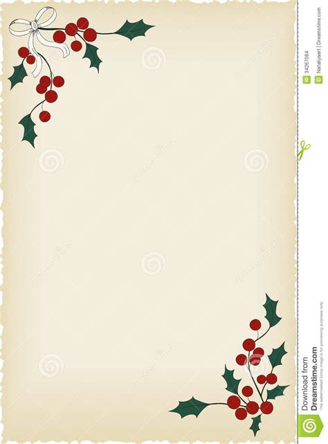 background for letters christmas blank vintage background perfect for letters