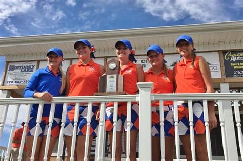 marshall county girls golf team state bound marshall county