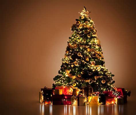 картинка рождество елка подарки шарики гирлянда праздники
