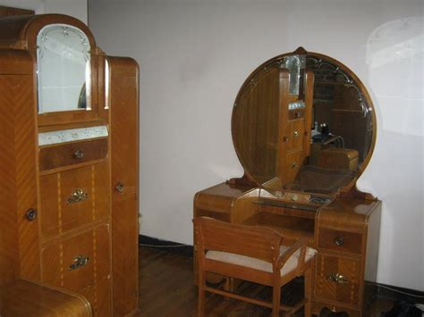 Vanity Dresser Sets by Vintage 1930s Bedroom Furniture Set Vanity Dresser