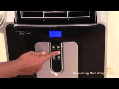 haier btu portable room heatcool air conditioner review youtube
