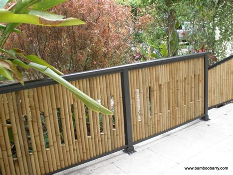 bamboo fences bamboo fencing landscaping gardening ideas