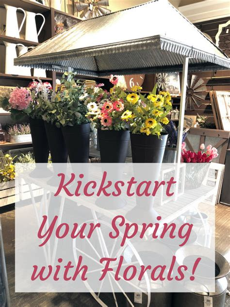 Kickstart Your Spring With Florals From Kirkland's Flower