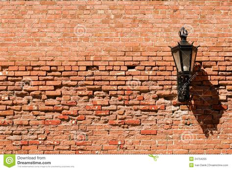 brick wall with l on it stock image image 24754205