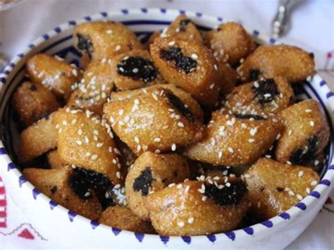 cuisine marocaine makrout aux dattes recettes de dattes et tunisie
