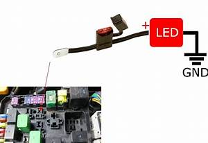 How To Connect Power Wire To Fuse Box