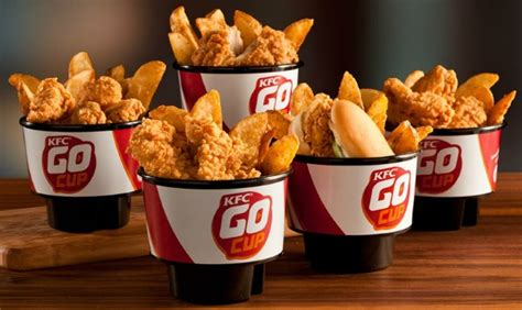 cup cuisine kfc releases unique take out containers made to fit your