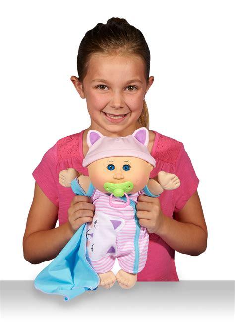"Cabbage Patch Kids 12 5"" Naptime Babies Bald/Blue Eye"
