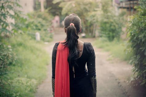 Walk, Behind, Sad, Female, Life