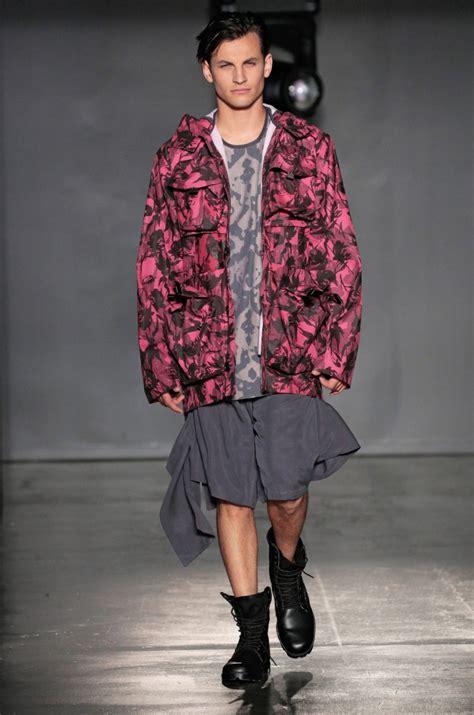 academy art university graduation fashion show menswear